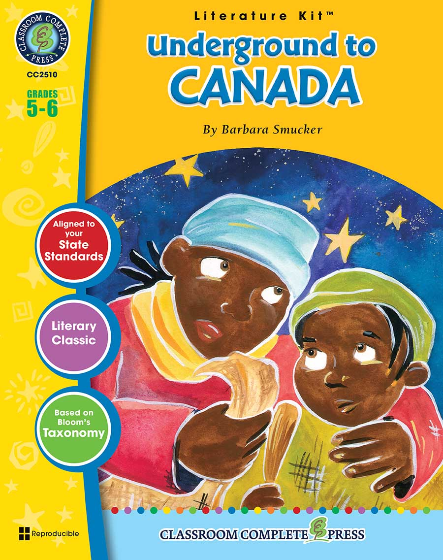 Underground to Canada - Literature Kit Gr. 5-6 - print book