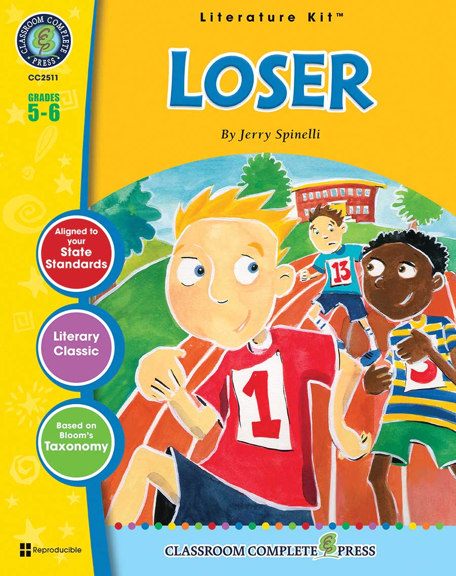Loser - Literature Kit Gr. 5-6 - print book