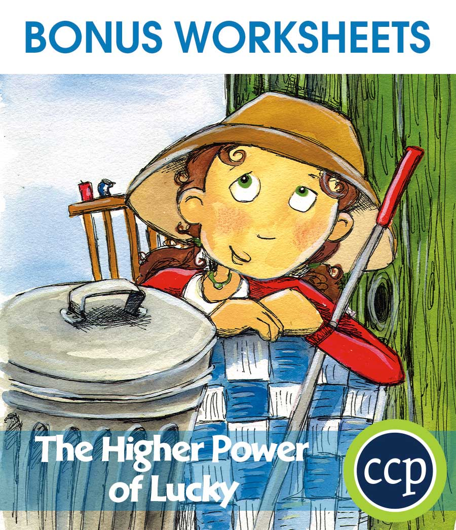 The Higher Power of Lucky - Literature Kit Gr. 5-6 - BONUS WORKSHEETS - eBook