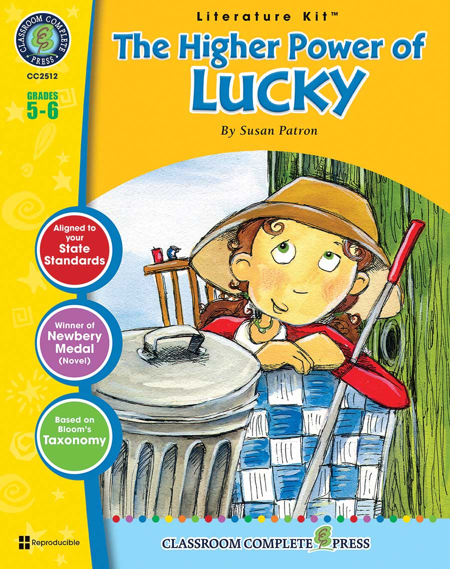 The Higher Power of Lucky - Literature Kit Gr. 5-6 - print book