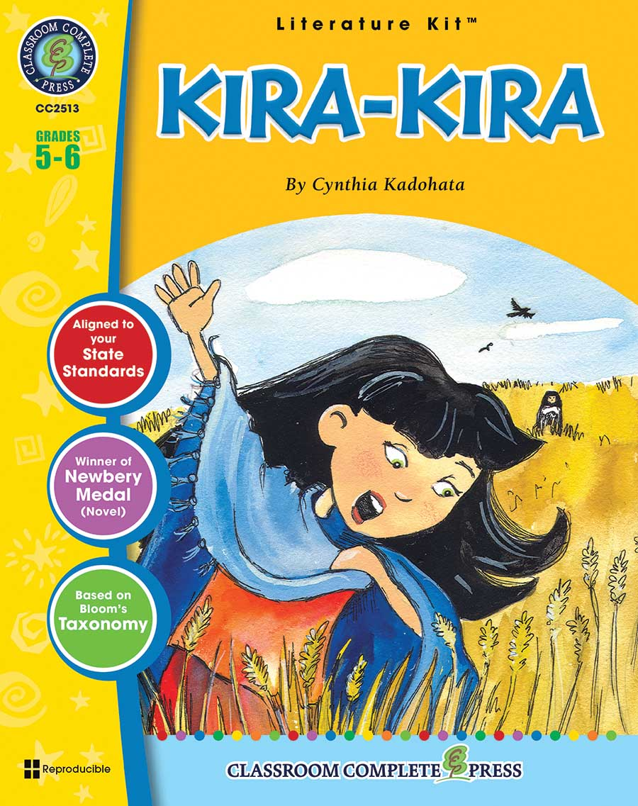 Kira-Kira - Literature Kit Gr. 5-6 - print book
