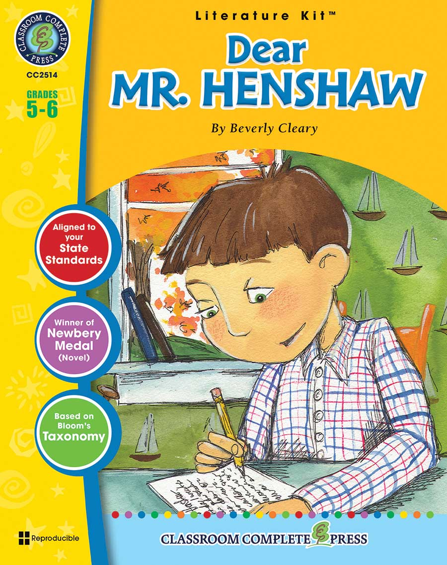 Dear Mr. Henshaw - Literature Kit Gr. 5-6 - print book
