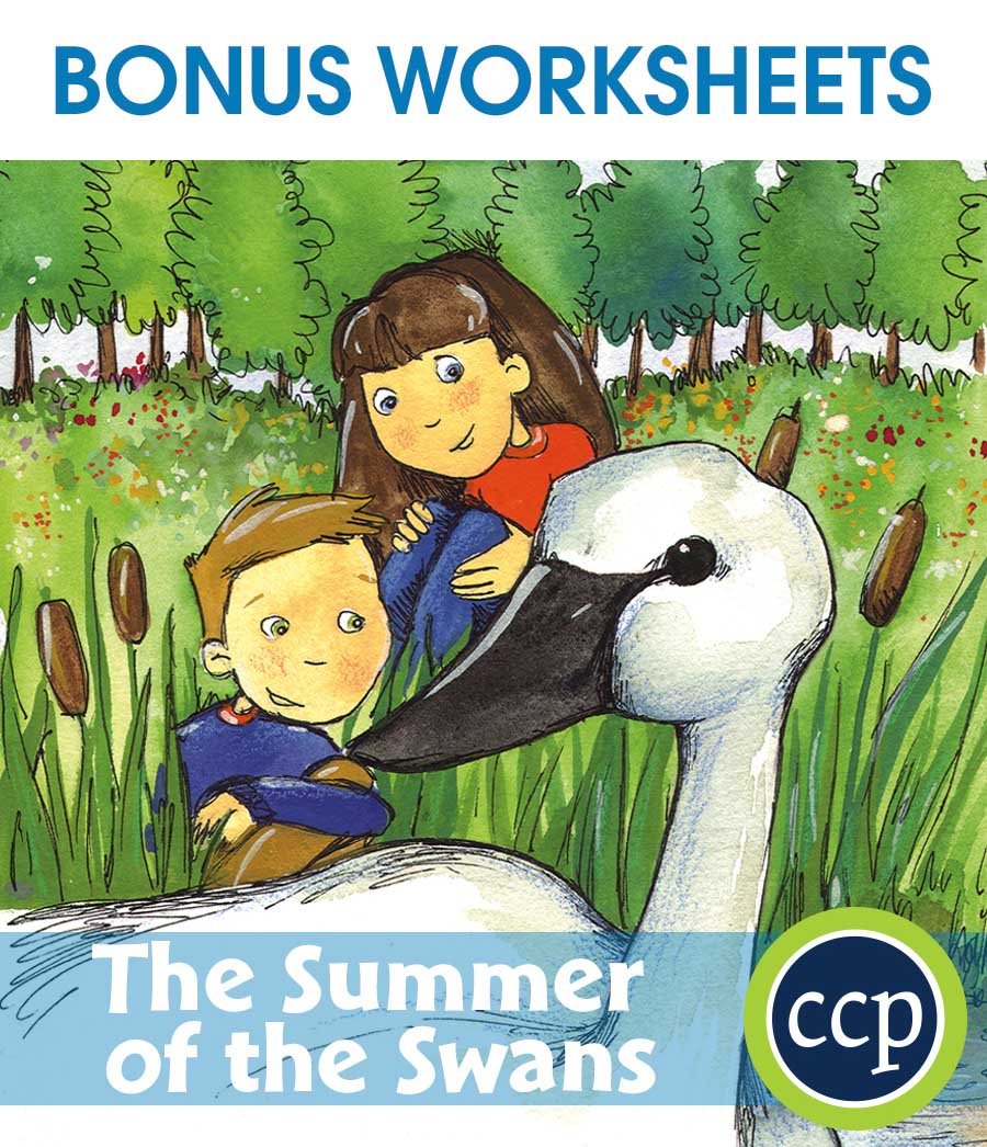 The Summer of the Swans - Literature Kit Gr. 5-6 - BONUS WORKSHEETS - eBook