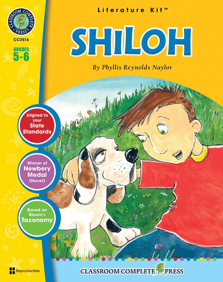 Shiloh - Literature Kit Gr. 5-6 - print book