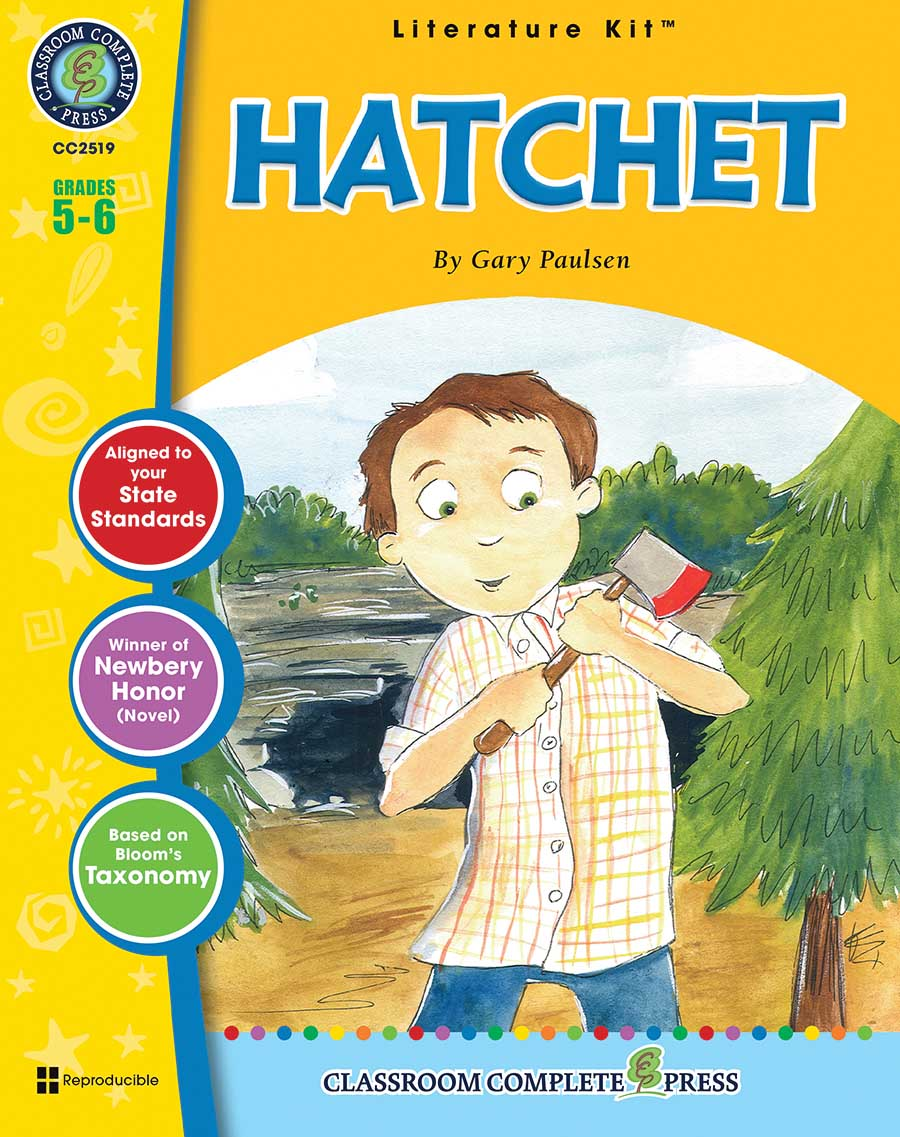 Hatchet - Novel Study Guide - Grades 5 To 6 - Print Book - Lesson Plan
