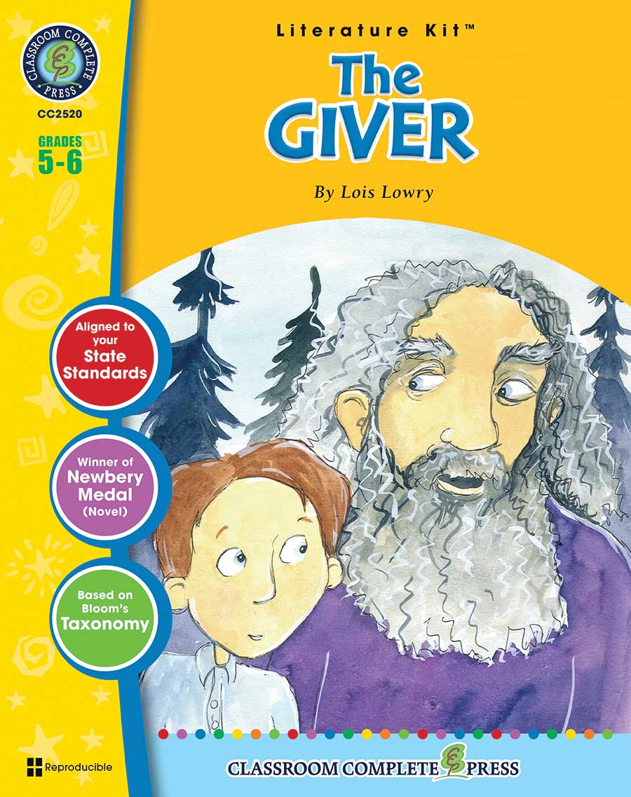 The Giver - Literature Kit Gr. 5-6 - print book