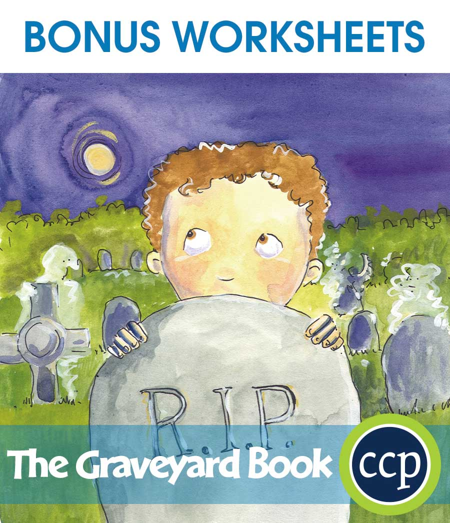 The Graveyard Book - Literature Kit Gr. 5-6 - BONUS WORKSHEETS - eBook