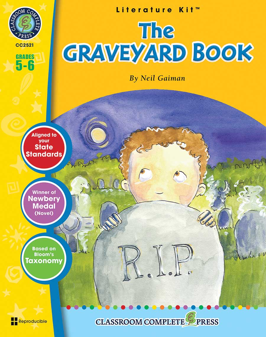 The Graveyard Book - Literature Kit Gr. 5-6 - print book