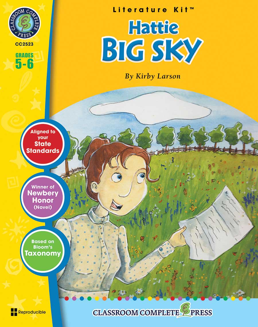 Hattie Big Sky - Literature Kit Gr. 5-6 - print book