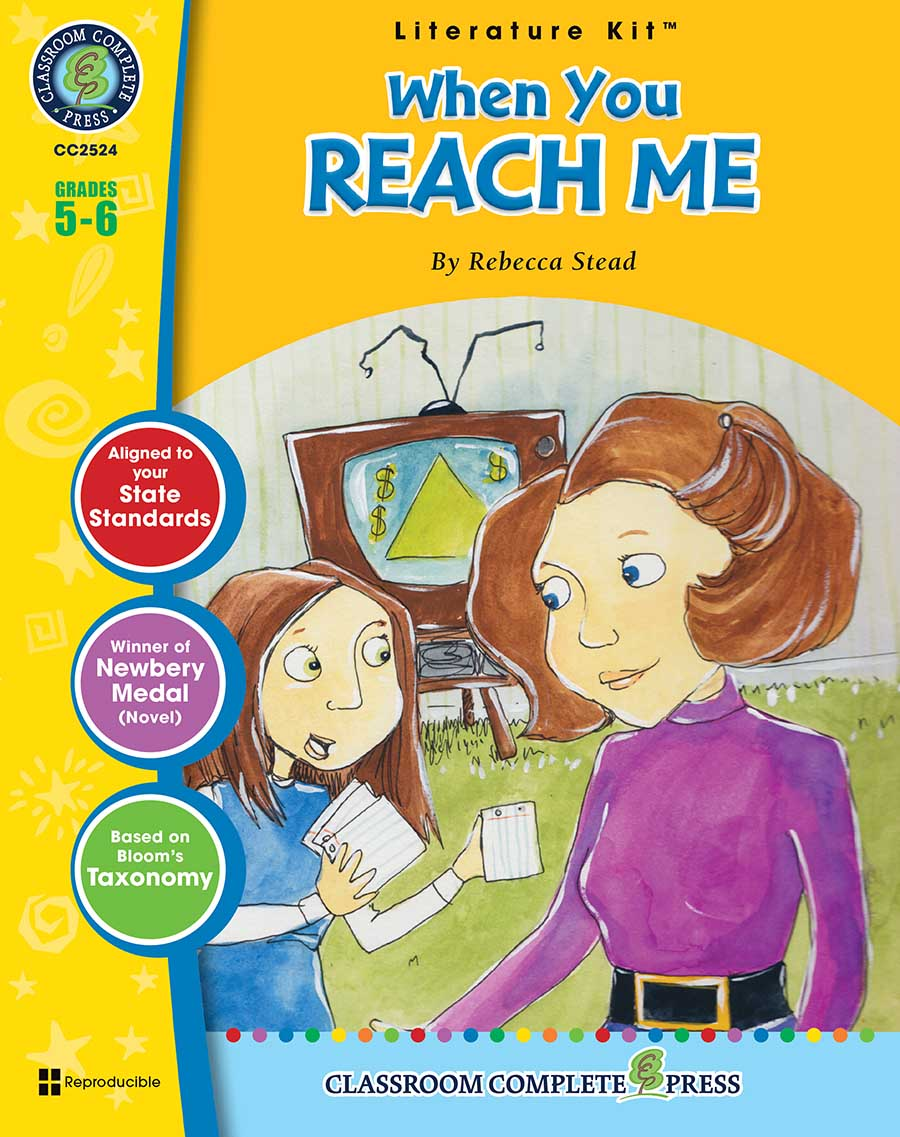 When You Reach Me - Literature Kit Gr. 5-6 - print book