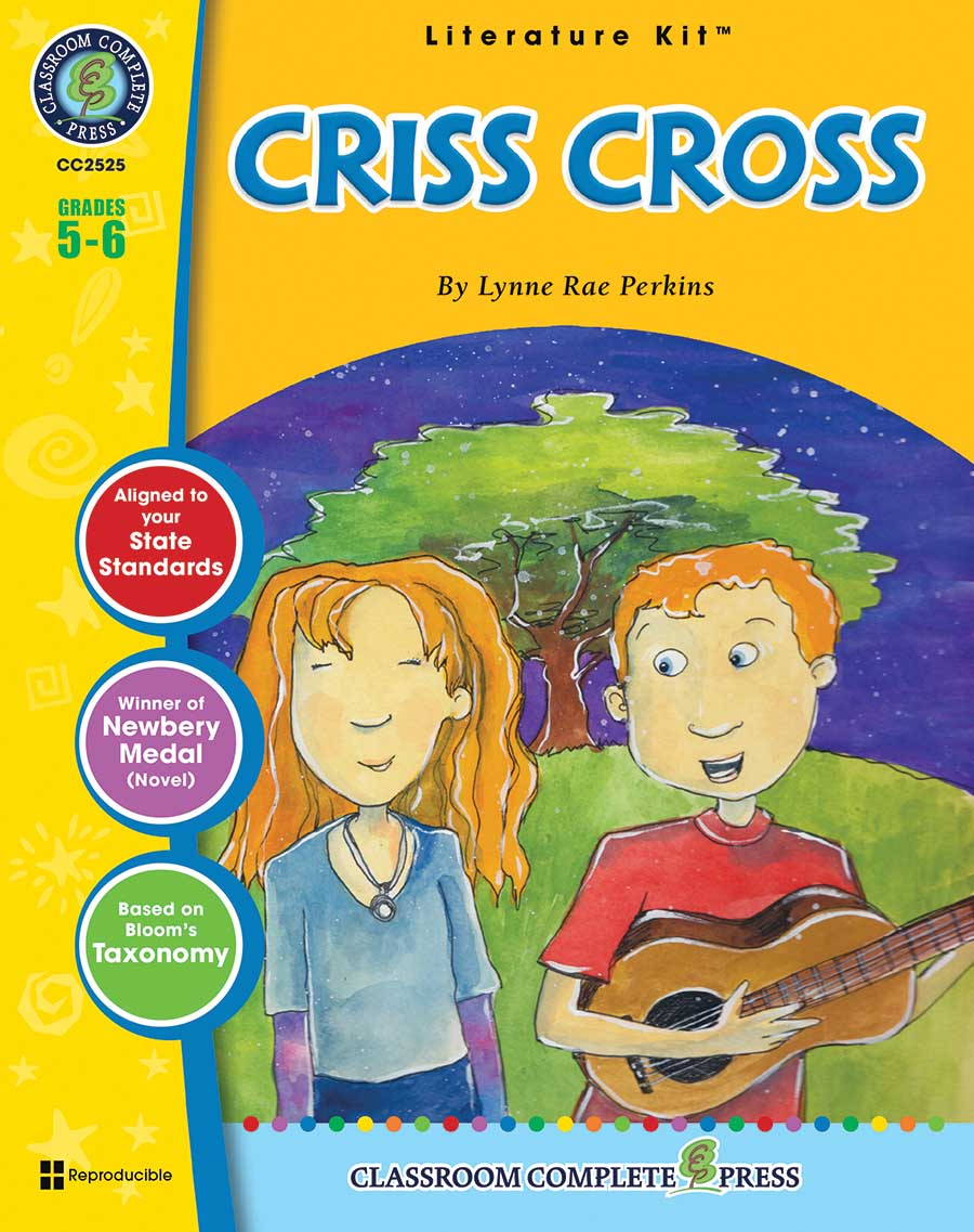 Criss Cross - Literature Kit Gr. 5-6 - print book