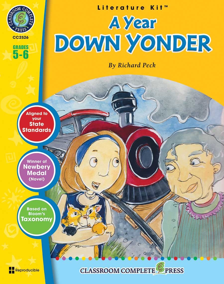 A Year Down Yonder - Literature Kit Gr. 5-6 - print book