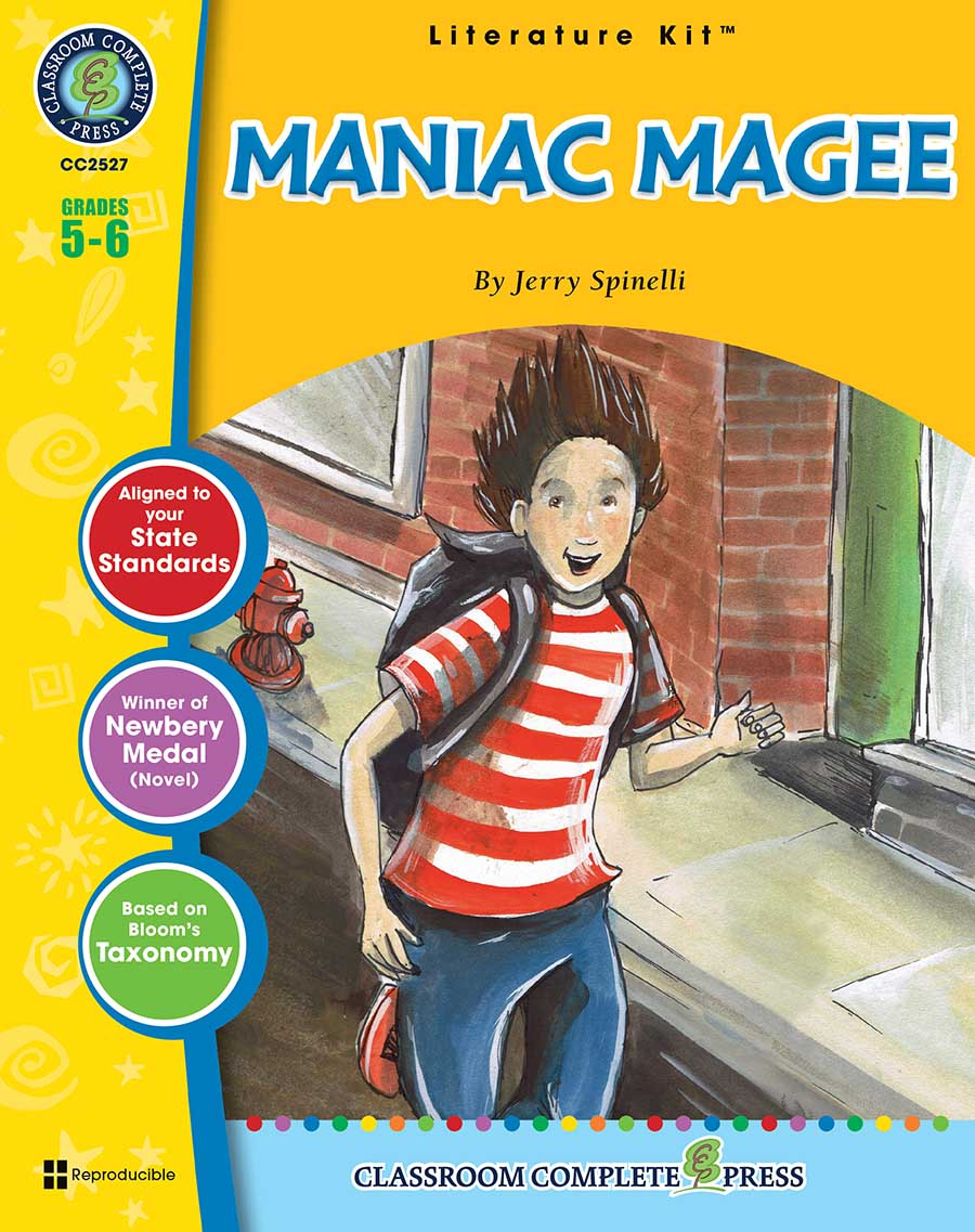 Maniac Magee - Literature Kit Gr. 5-6 - print book
