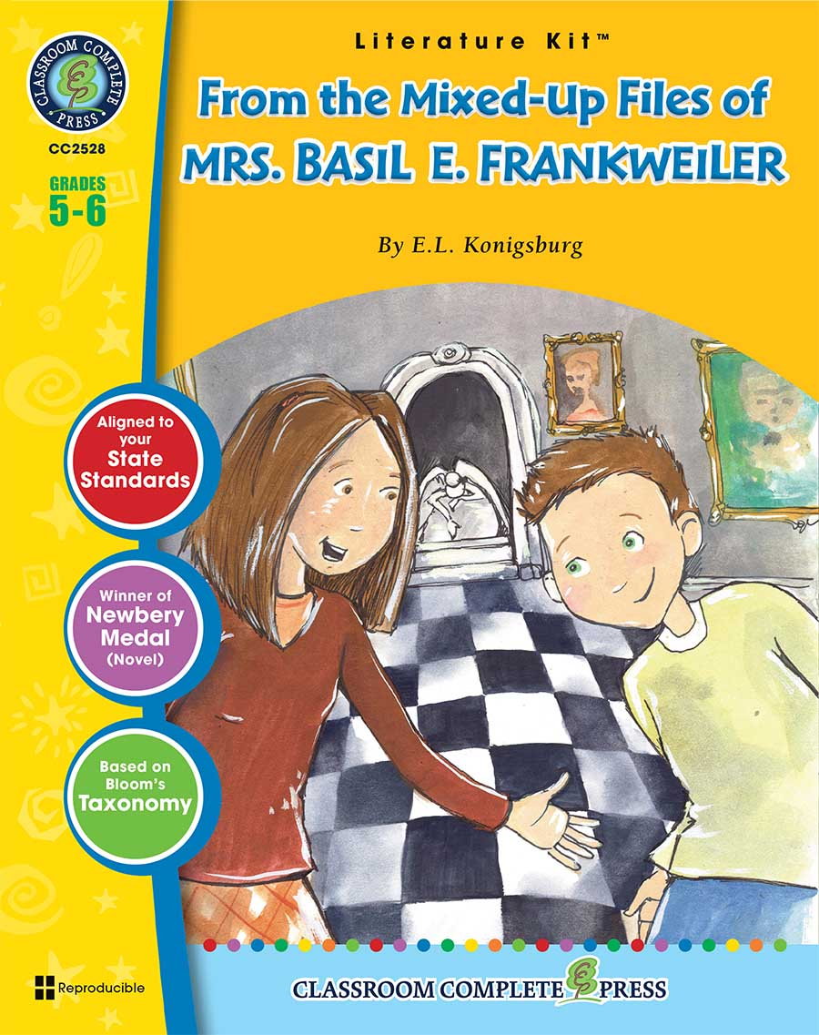 From the mixed up files of mrs basil e frankweiler novel study from the mixed up files of mrs basil e frankweiler literature kit fandeluxe Choice Image