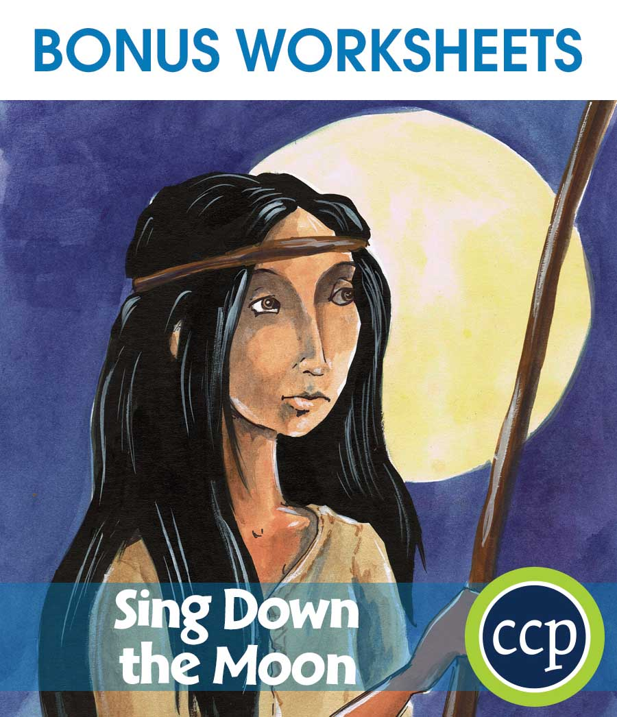 Sing Down the Moon - Literature Kit Gr. 5-6 - BONUS WORKSHEETS - eBook