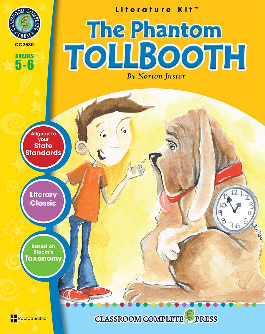 The Phantom Tollbooth - Literature Kit Gr. 5-6 - print book