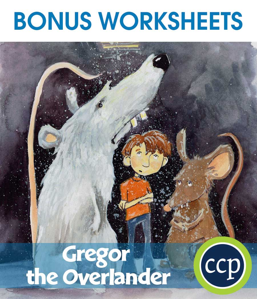 Gregor the Overlander - Literature Kit Gr. 5-6 - BONUS WORKSHEETS - eBook