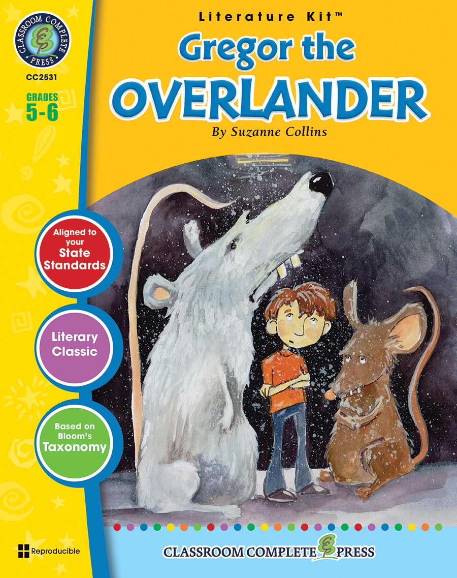 Gregor the Overlander - Literature Kit Gr. 5-6 - print book