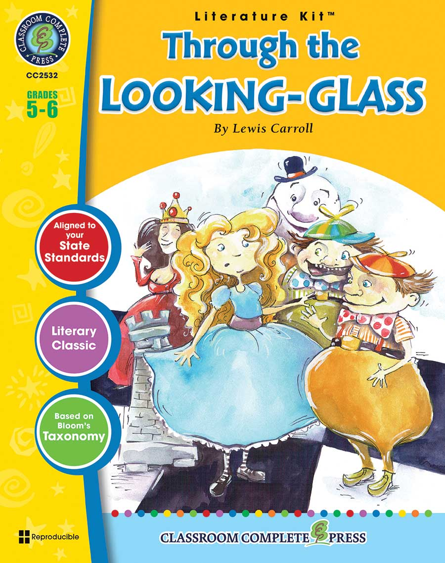 Through the Looking-Glass - Literature Kit Gr. 5-6 - print book