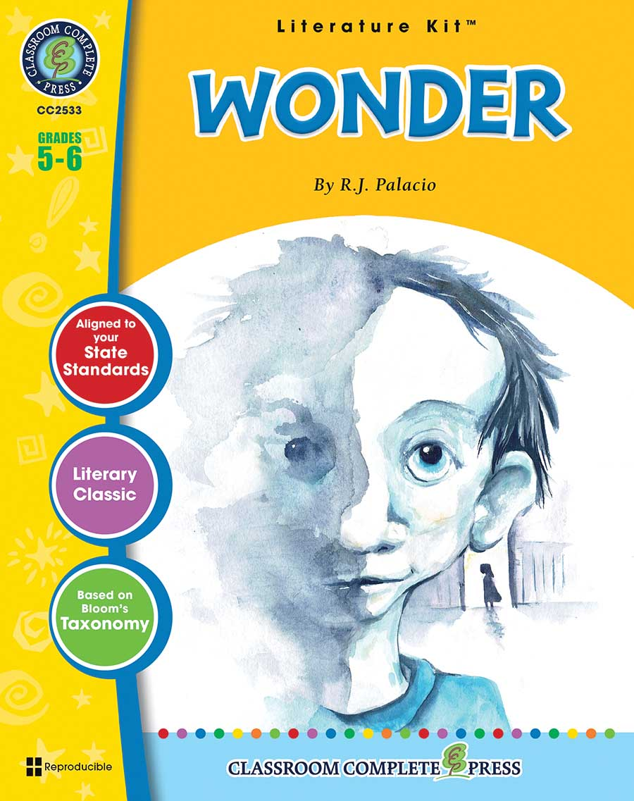 Wonder - Literature Kit Gr. 5-6 - print book