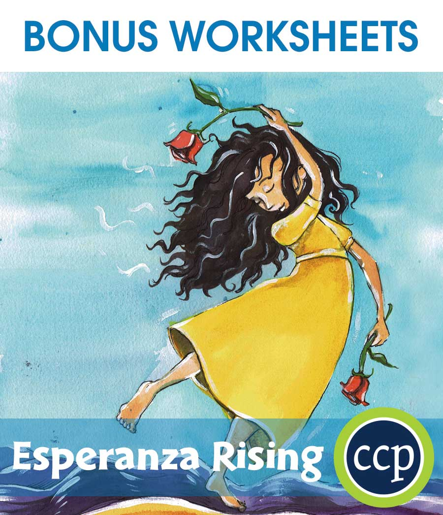 Esperanza Rising - Literature Kit Gr. 5-6 - BONUS WORKSHEETS - eBook
