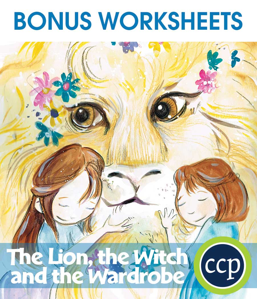 The Lion, the Witch and the Wardrobe - Literature Kit Gr. 5-6 - BONUS WORKSHEETS - eBook