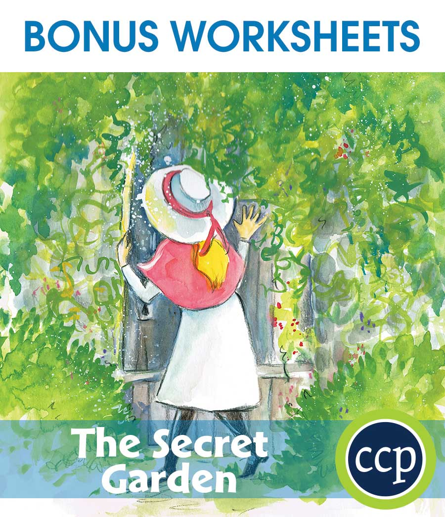 The Secret Garden - Literature Kit Gr. 5-6 - BONUS WORKSHEETS - eBook