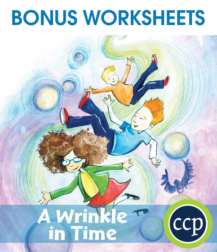 A Wrinkle in Time - Literature Kit Gr. 5-6 - BONUS WORKSHEETS - eBook