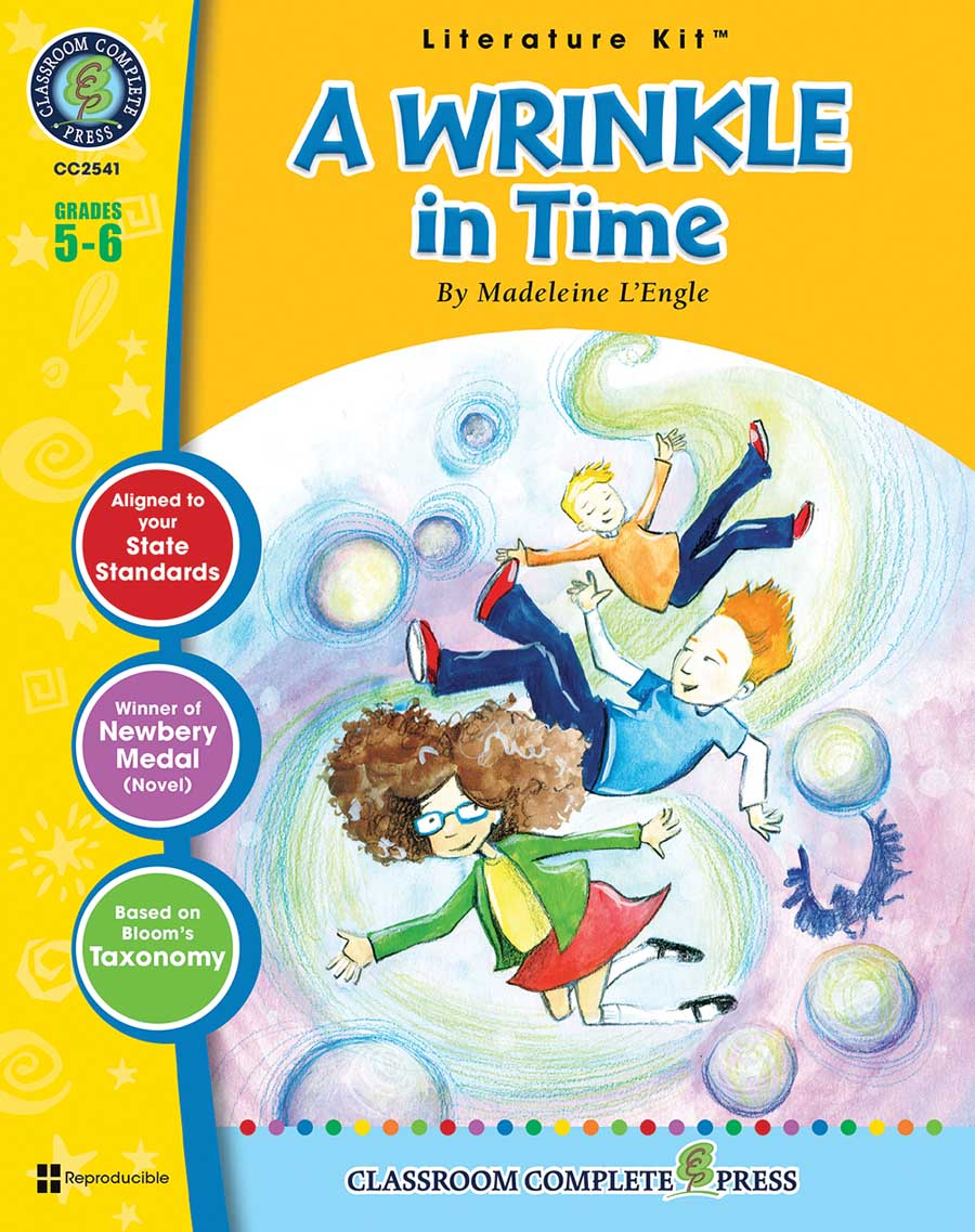 A Wrinkle in Time - Literature Kit Gr. 5-6 - print book