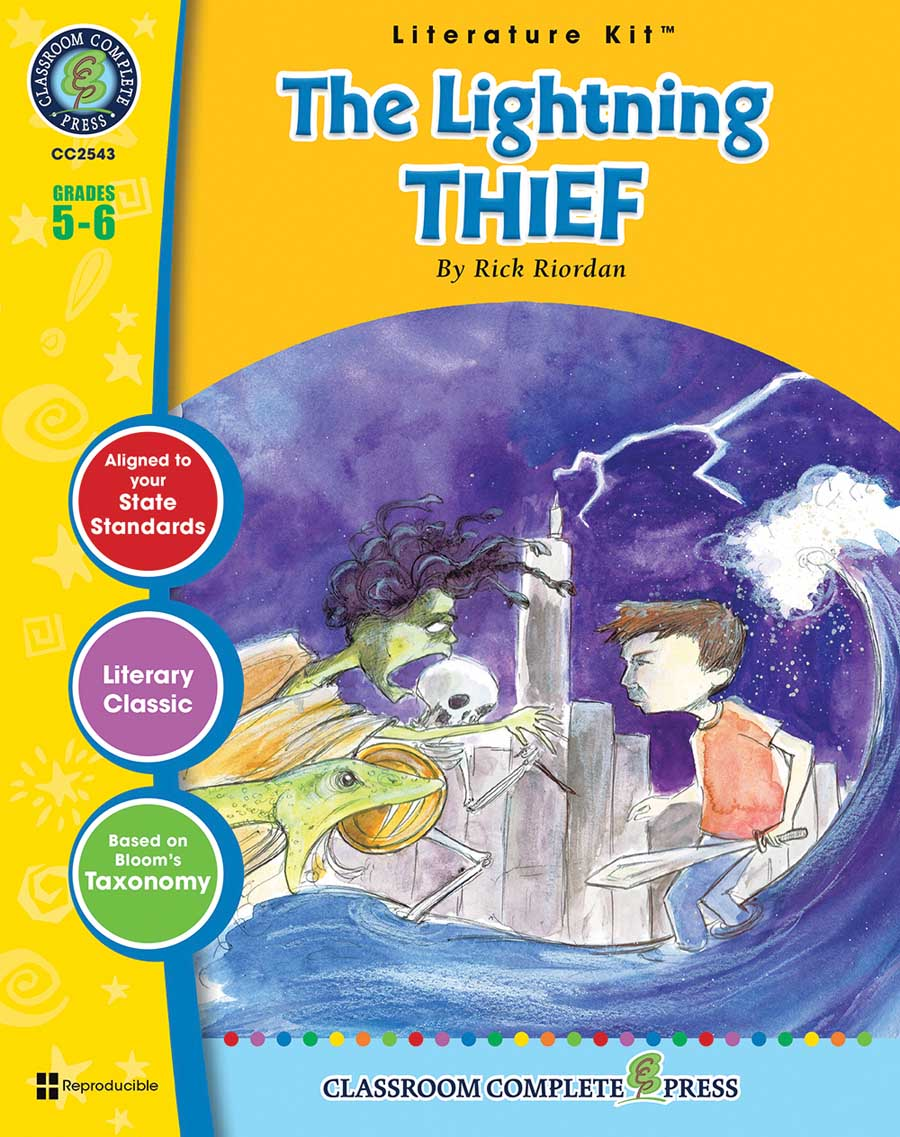 The Lightning Thief - Literature Kit Gr. 5-6 - print book