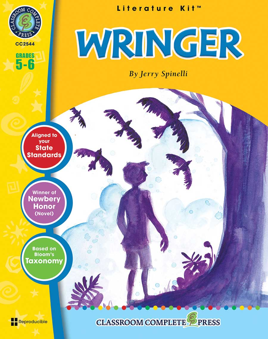 Wringer - Literature Kit Gr. 5-6 - print book