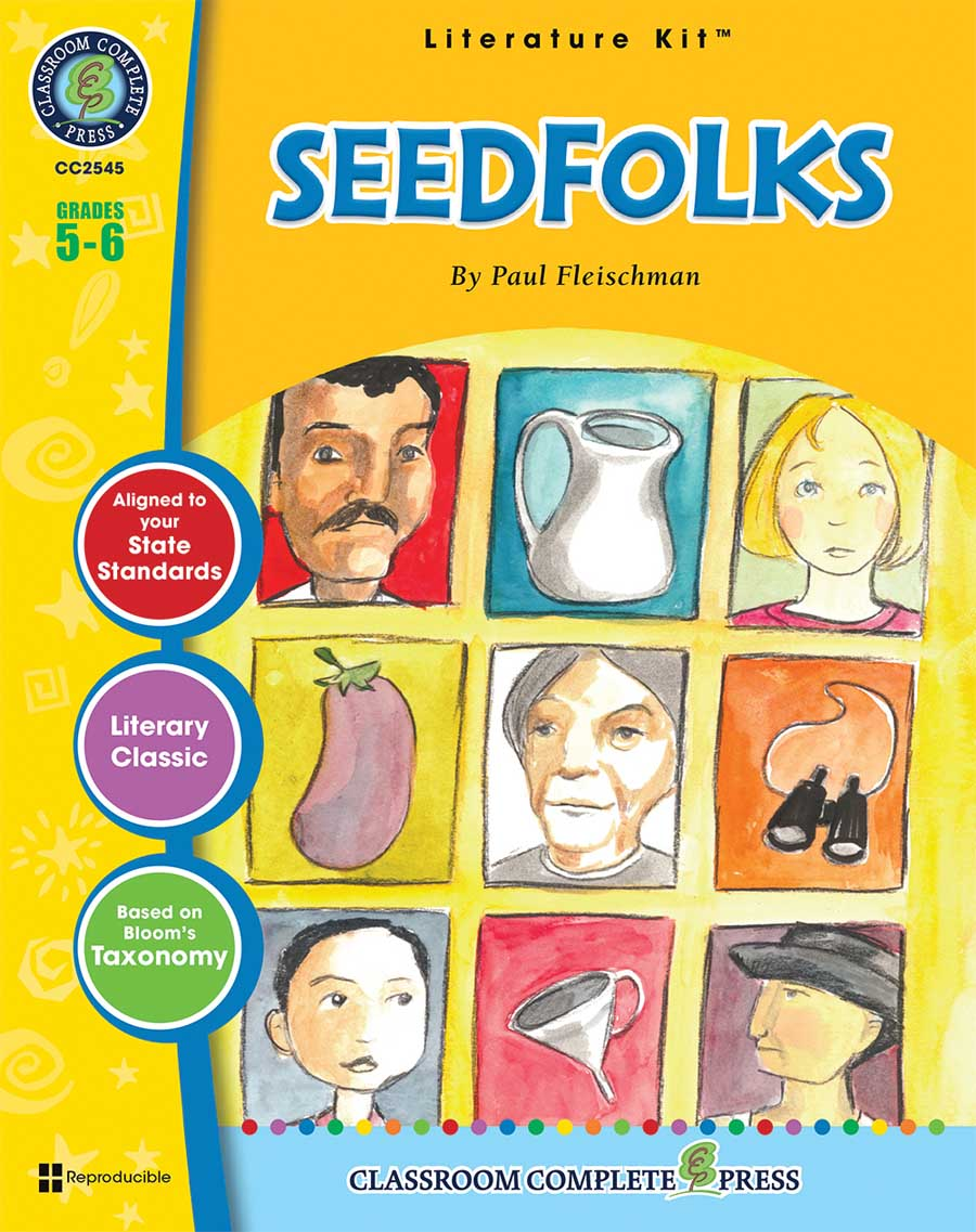 Seedfolks - Literature Kit Gr. 5-6 - print book
