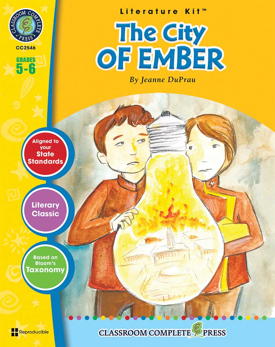 The City of Ember - Literature Kit Gr. 5-6 - print book
