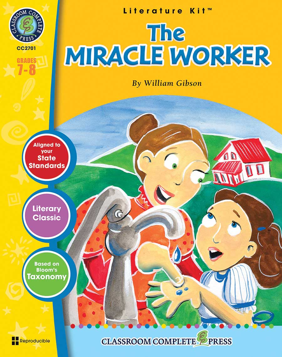 The Miracle Worker - Literature Kit Gr. 7-8 - print book