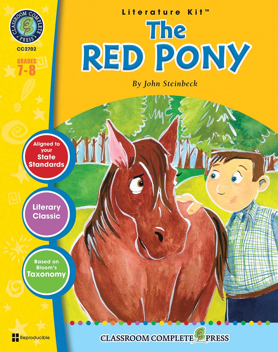 The Red Pony - Literature Kit Gr. 7-8 - print book