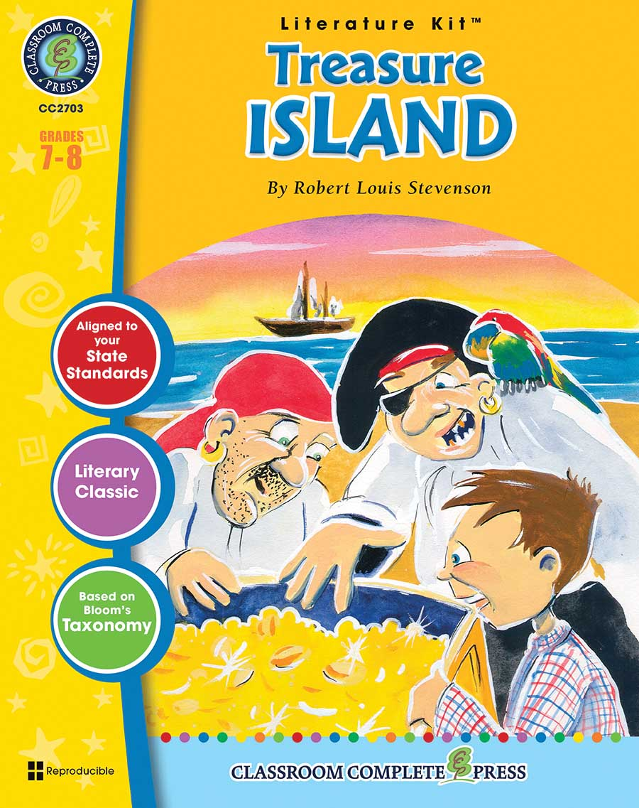 Treasure Island - Literature Kit Gr. 7-8 - print book