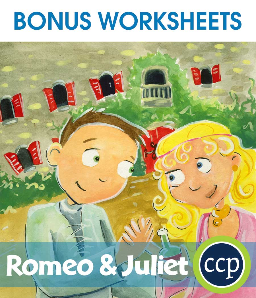 Romeo & Juliet - Literature Kit Gr. 7-8 - BONUS WORKSHEETS - eBook