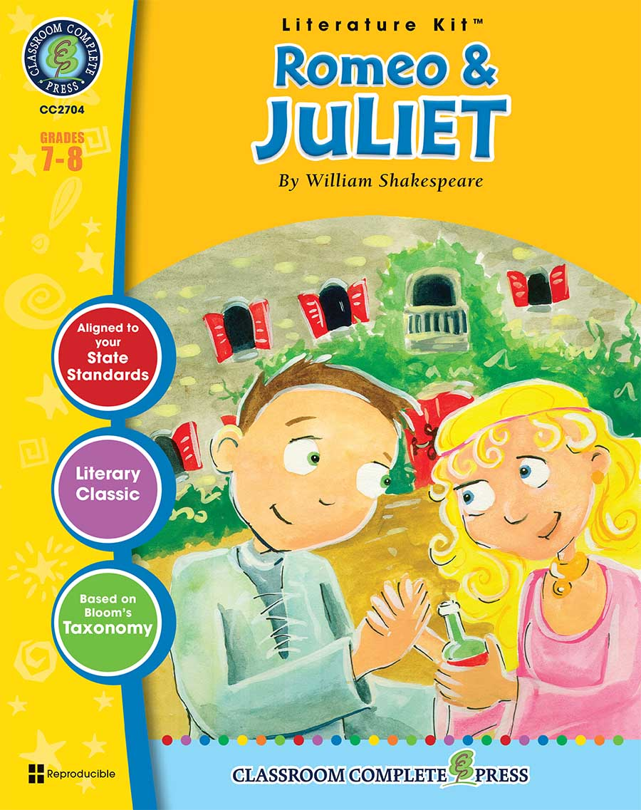 Romeo & Juliet - Literature Kit Gr. 7-8 - print book