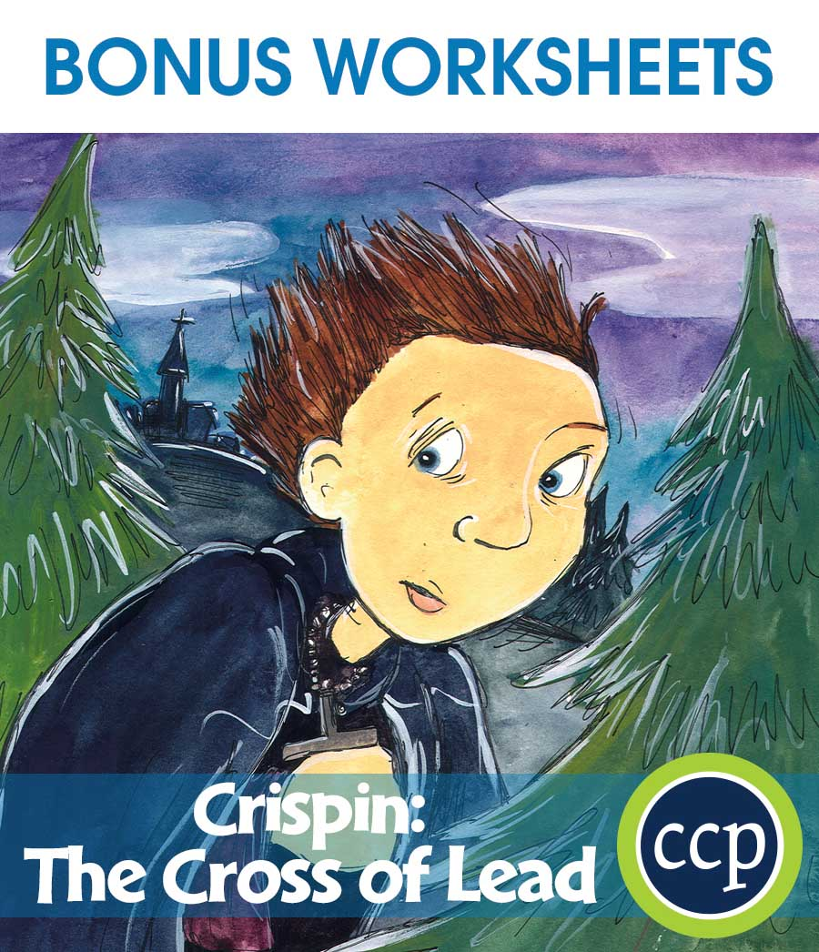 Crispin: The Cross of Lead - Literature Kit Gr. 7-8 - BONUS WORKSHEETS - eBook