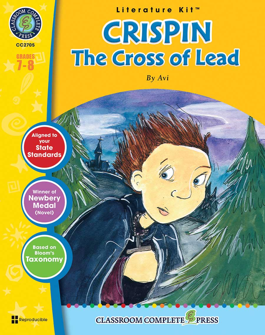 Crispin: The Cross of Lead - Literature Kit Gr. 7-8 - print book