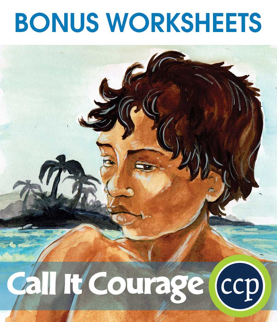 Call It Courage - Literature Kit Gr. 7-8 - BONUS WORKSHEETS - eBook