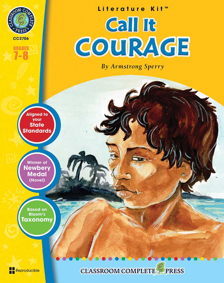 Call It Courage - Literature Kit Gr. 7-8 - print book