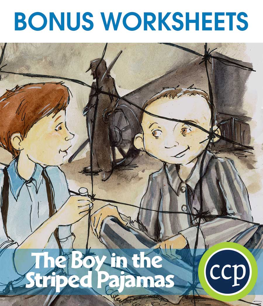 The Boy in the Striped Pajamas - Literature Kit Gr. 7-8 - BONUS WORKSHEETS - eBook