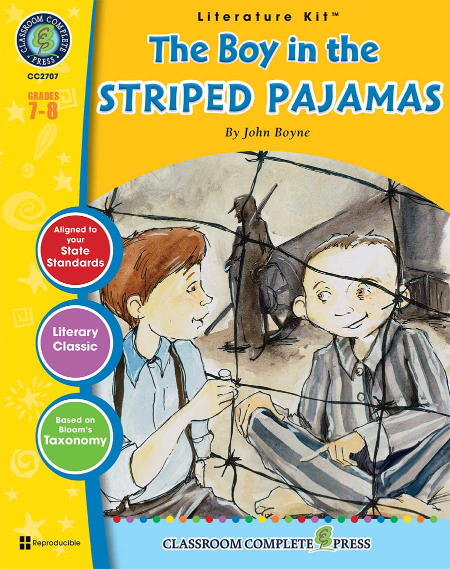 The Boy in the Striped Pajamas - Literature Kit Gr. 7-8 - print book