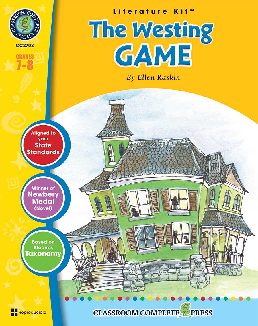 The Westing Game - Literature Kit Gr. 7-8 - print book