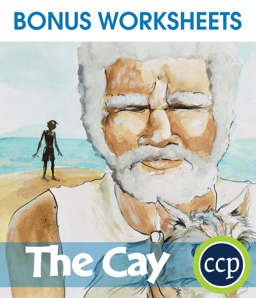 The Cay - Literature Kit Gr. 7-8 - BONUS WORKSHEETS - eBook
