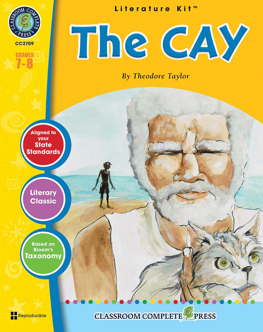 The Cay - Literature Kit Gr. 7-8 - print book