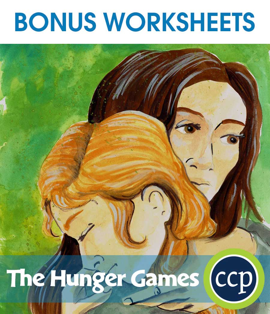 The Hunger Games - Literature Kit Gr. 7-8 - BONUS WORKSHEETS - eBook