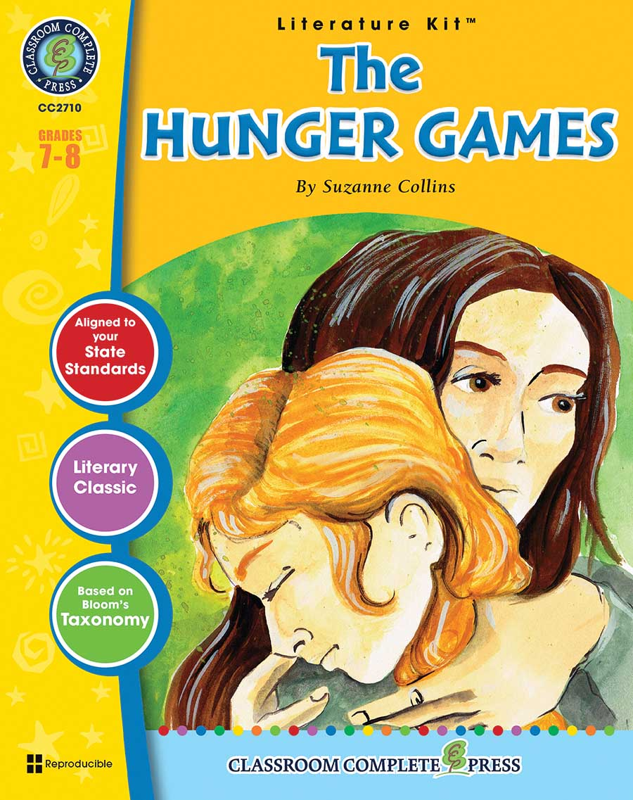 The Hunger Games - Literature Kit Gr. 7-8 - print book