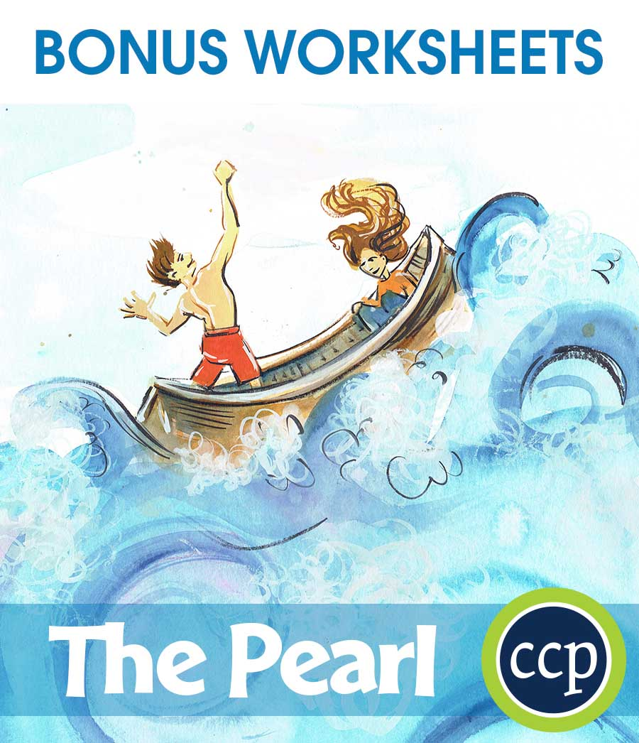 The Pearl - Literature Kit Gr. 7-8 - BONUS WORKSHEETS - eBook